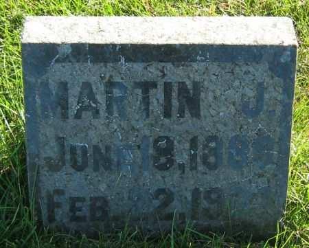 HANNON, MARTIN J, - Clayton County, Iowa   MARTIN J, HANNON