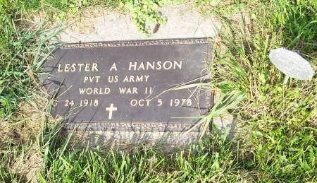 HANSON, LESTER - Clayton County, Iowa | LESTER HANSON
