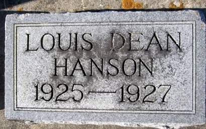 HANSON, LOUIS DEAN - Clayton County, Iowa | LOUIS DEAN HANSON