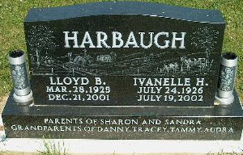 HARBAUGH, LLOYD & IVANELLE - Clayton County, Iowa | LLOYD & IVANELLE HARBAUGH