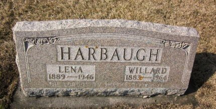 HARBAUGH, LENA - Clayton County, Iowa | LENA HARBAUGH