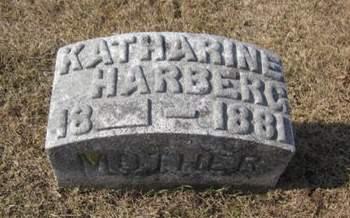 HARBERG, KATHARINE - Clayton County, Iowa   KATHARINE HARBERG