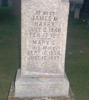 HARRY, JAMES M. & MARY C. - Clayton County, Iowa | JAMES M. & MARY C. HARRY
