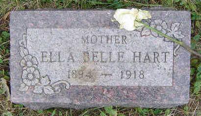 HART, ELLA BELLE - Clayton County, Iowa | ELLA BELLE HART