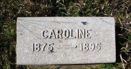 HARTMANN, CAROLINE - Clayton County, Iowa | CAROLINE HARTMANN