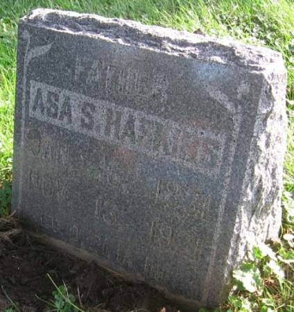 HASKINS, ASA S. - Clayton County, Iowa | ASA S. HASKINS