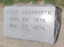 HAUSWIRTH, LOUIS - Clayton County, Iowa | LOUIS HAUSWIRTH