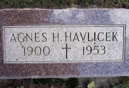 HAVLICEK, AGNES H. - Clayton County, Iowa | AGNES H. HAVLICEK