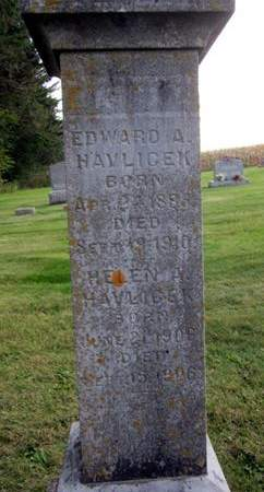 HAVLICEK, EDWARD A. - Clayton County, Iowa | EDWARD A. HAVLICEK