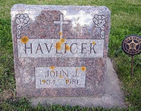 HAVLICEK, JOHN J. - Clayton County, Iowa | JOHN J. HAVLICEK