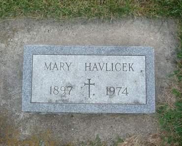HAVLICEK, MARY - Clayton County, Iowa   MARY HAVLICEK