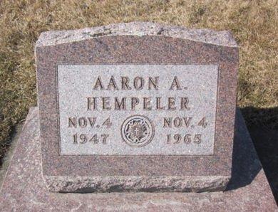 HEMPELER, AARON A. - Clayton County, Iowa | AARON A. HEMPELER