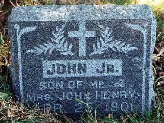 HENRY, JOHN MARTIN - Clayton County, Iowa | JOHN MARTIN HENRY