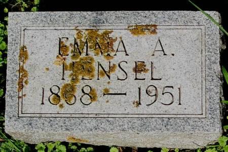 HENSEL, EMMA A. - Clayton County, Iowa | EMMA A. HENSEL