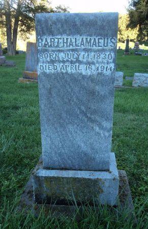 HERBOLDSHEIMER, BARTHALAMAEUS - Clayton County, Iowa | BARTHALAMAEUS HERBOLDSHEIMER