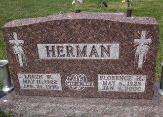 HUNT HERMAN, FLORENCE M. - Clayton County, Iowa | FLORENCE M. HUNT HERMAN