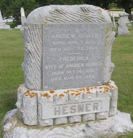 HESNER, ANDREW - Clayton County, Iowa | ANDREW HESNER