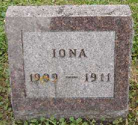 HILDEBRAND, IONA - Clayton County, Iowa | IONA HILDEBRAND