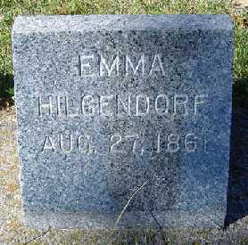 HILGENDORF, EMMA - Clayton County, Iowa | EMMA HILGENDORF