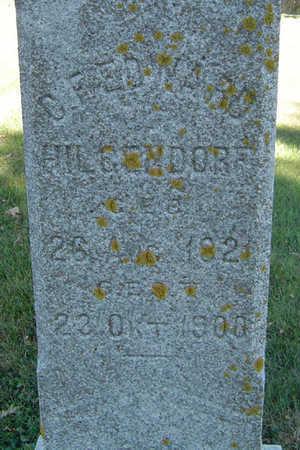 HILGENDORF, G.E. EDWARD - Clayton County, Iowa   G.E. EDWARD HILGENDORF