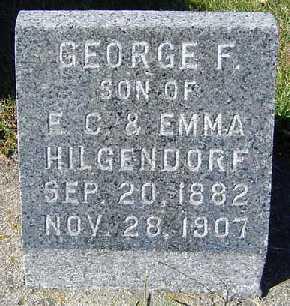 HILGENDORF, GEORGE F. - Clayton County, Iowa | GEORGE F. HILGENDORF