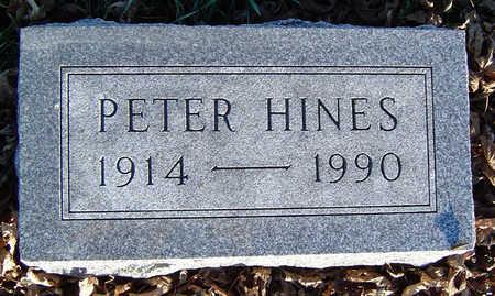 HINES, PETER - Clayton County, Iowa | PETER HINES