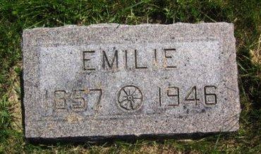 HINSCH, EMILIE - Clayton County, Iowa   EMILIE HINSCH