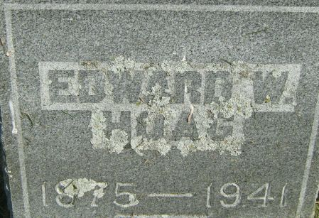 HOAG, EDWARD W. - Clayton County, Iowa | EDWARD W. HOAG