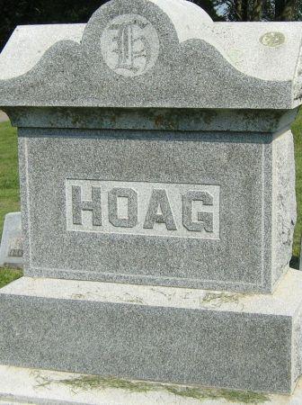HOAG, FAMILY HEADSTONE - Clayton County, Iowa | FAMILY HEADSTONE HOAG