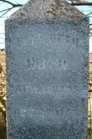 HOCH, ELIZABETH - Clayton County, Iowa | ELIZABETH HOCH