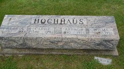HOCHHAUS, GEORGE - Clayton County, Iowa | GEORGE HOCHHAUS