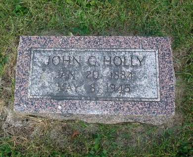 HOLLY, JOHN G. - Clayton County, Iowa | JOHN G. HOLLY