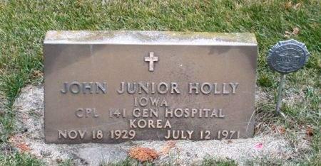 HOLLY, JOHN JUNIOR - Clayton County, Iowa | JOHN JUNIOR HOLLY
