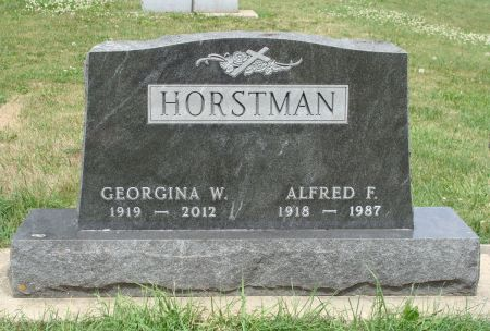 TIEDEN HORSTMAN, GEORGINA W. - Clayton County, Iowa | GEORGINA W. TIEDEN HORSTMAN