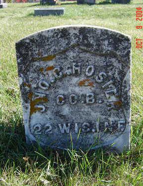 HOSIER, JOHN C. - Clayton County, Iowa | JOHN C. HOSIER