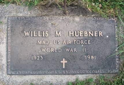 HUEBNER, WILLIS M - Clayton County, Iowa | WILLIS M HUEBNER