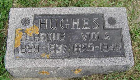 HUGHES, BURROUS - Clayton County, Iowa | BURROUS HUGHES