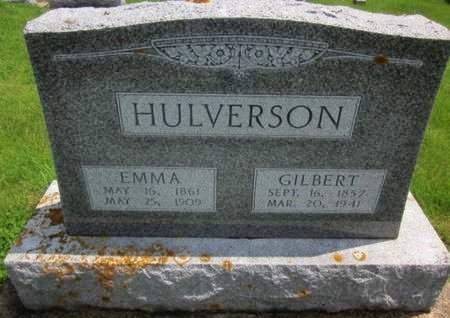 HULVERSON, GILBERT - Clayton County, Iowa | GILBERT HULVERSON