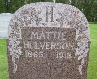HULVERSON, MATTIE - Clayton County, Iowa | MATTIE HULVERSON