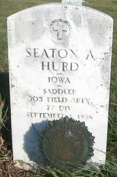 HURD, SEATON A. - Clayton County, Iowa | SEATON A. HURD