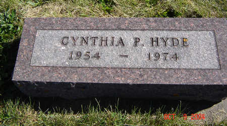 HYDE, CYNTHIA P. - Clayton County, Iowa | CYNTHIA P. HYDE
