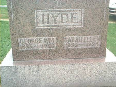 HYDE, GEORGE WILLIAM & SARAH ELLEN - Clayton County, Iowa | GEORGE WILLIAM & SARAH ELLEN HYDE