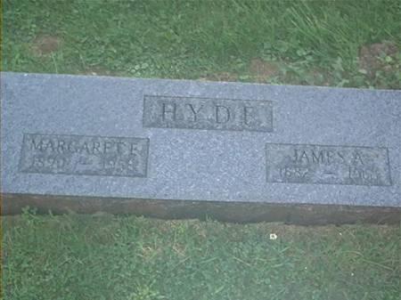 HYDE, JAMES A. & MARGARET E. - Clayton County, Iowa | JAMES A. & MARGARET E. HYDE
