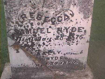 HYDE, REBECCA & SALLY - Clayton County, Iowa | REBECCA & SALLY HYDE
