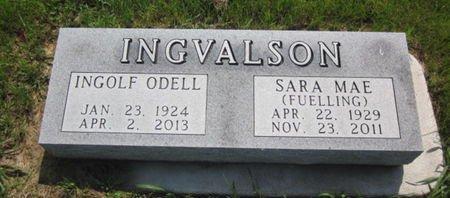 FUELLING INGVALSON, SARA MAE - Clayton County, Iowa | SARA MAE FUELLING INGVALSON