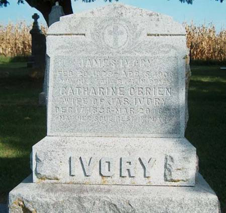 IVORY, JAMES - Clayton County, Iowa | JAMES IVORY