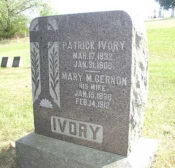 GERNON IVORY, MARY - Clayton County, Iowa | MARY GERNON IVORY