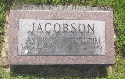 JACOBSON, ASTRI T. - Clayton County, Iowa | ASTRI T. JACOBSON
