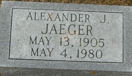 JAEGER, ALEXANDER J. - Clayton County, Iowa | ALEXANDER J. JAEGER