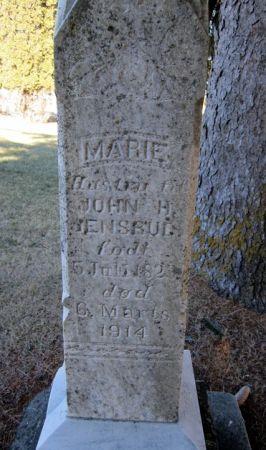 JENSRUD, MARIE - Clayton County, Iowa | MARIE JENSRUD